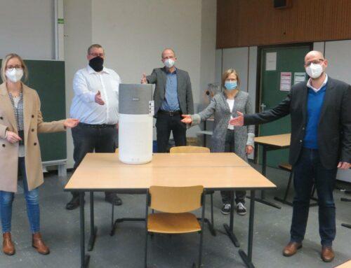 Virenfiltergerät für das Berufskolleg Volksgartenstraße